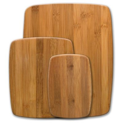 Farberware Classic 3-Piece Bamboo Cutting Board