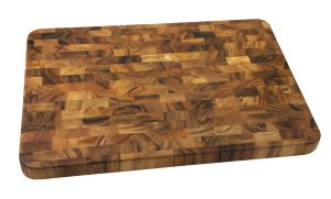 Large End Grain Prep Station, Acacia Wood