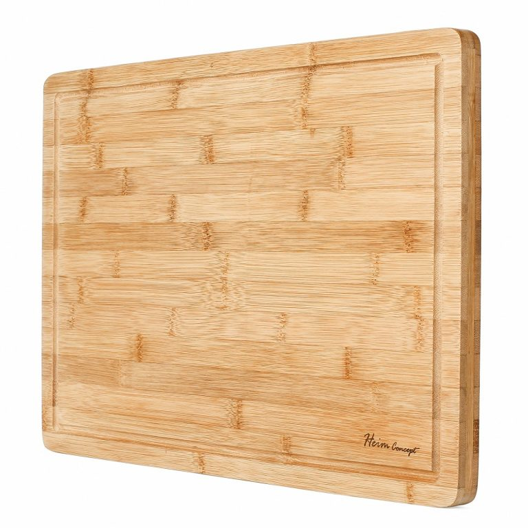Premium Organic Bamboo [HEIM CONCEPT] Extra Large Cutting Board