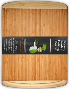 Best ORGANIC Bamboo Cutting Board - FDA Approved for Your Safety