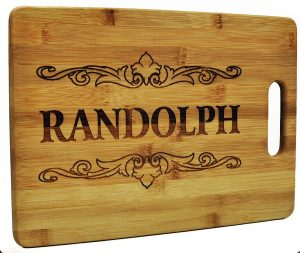 Custom Cutting Board - Wood Engraved Cutting Board