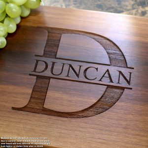 Name Personalized Engraved Cutting Board- Wedding Gift, Anniversary Gifts