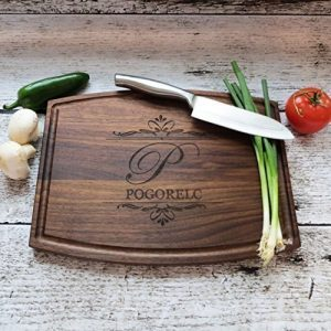 personalized cutting boards - Walnut - Maple- House Warming