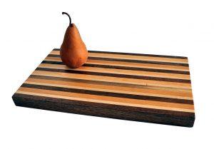 Woodworker's Classic American Hardwood Butcher Block Cutting Board, Medium