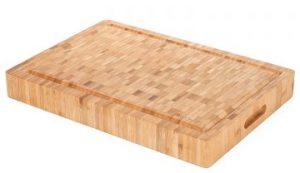 "Heim Concept 1PC Premium Large [17"" x 12"" x 2""] Organic Bamboo Butcher Block"