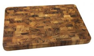 Ironwood Gourmet 28217 Large End Grain Prep Station End Grain Cutting Boards