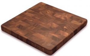 Ironwood Gourmet 28218 Square End Grain Chef's Board, Acacia Wood