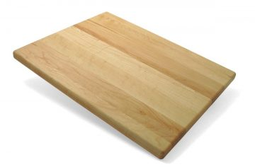 J.K. Adams 14-Inch-by-11-Inch Maple Wood Kitchen Basic Cutting Board