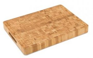 Large End Grain Bamboo Cutting Board | Professional