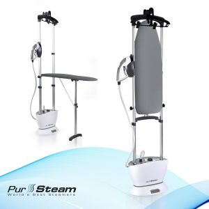 PurSteam Dual-Pro Iron & Pressurized Garment Steamer