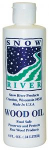 Snow River 8-Ounce Wood Oil