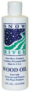 Snow River 8-Ounce Wood Oil