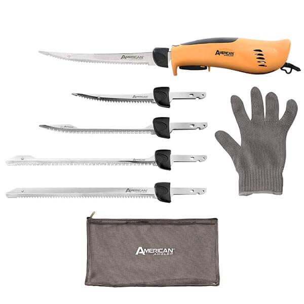 American Angler PRO Professional Grade Electric Fillet Knife