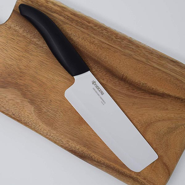 Kyocera Advanced Ceramic Revolution Series Nakiri Vegetable Cleaver