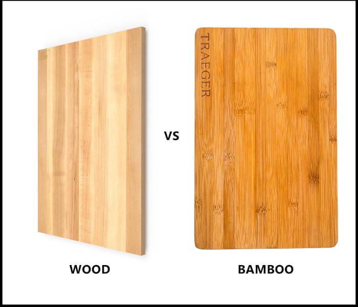 Wood vs bamboo cutting board