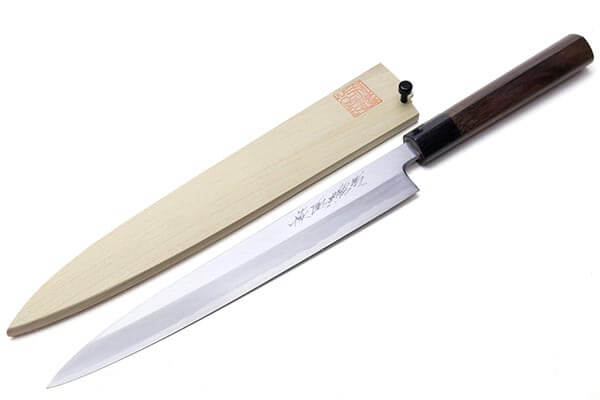 Yoshihiro Shiroko High Carbon Steel Kasumi Yanagi Sushi Knife