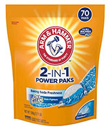 ARM & HAMMER 2-IN-1 Laundry Detergent Power Paks
