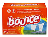 Bounce Fabric Softener and Dryer Sheets, Outdoor Fresh, 240 pack