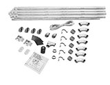 Honeywell 040351 Central Vacuum 3-Inlet Installation Kit in a Box