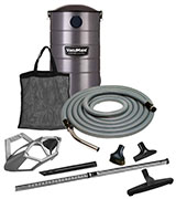 VacuMaid GV50PRO Wall Mounted Garage and Car Vacuum with 50 ft. Hose and Tools