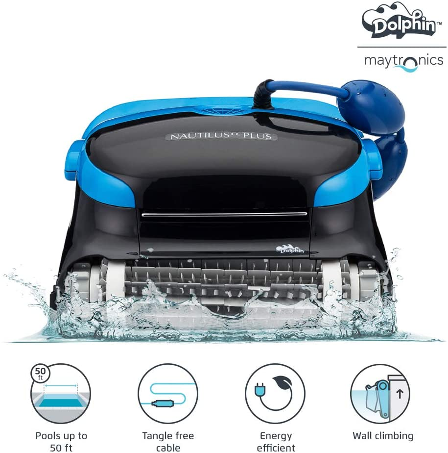 Dolphin Nautilus CC Plus Robotic Pool Vacuum Cleaner
