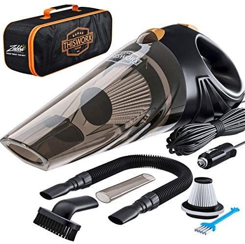 This Worx Portable Car Vacuum Cleaner
